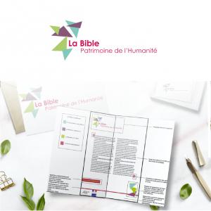 refonte du logotype et création de la charte graphique de la bible patrimoine de l'humanité 81