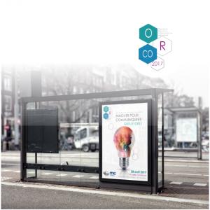 creation de l'identité visuelle et de la campagne de communication pour la journée ORCO 2017 à montpellier